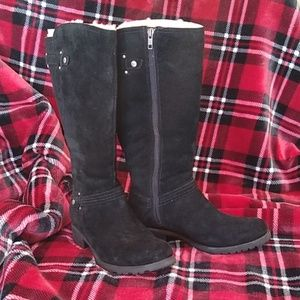 UGG Jillian black Suede Boots